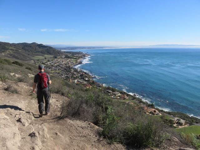Gorgeous views from Avila Ridge hiking trail