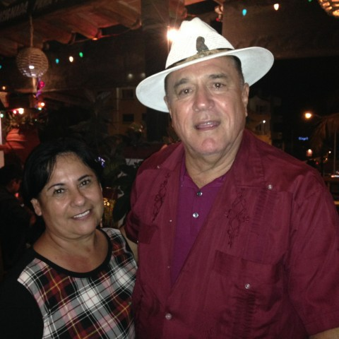 We started chatting with Marta and Guillermo at Los Zarapes. We got along so well that we joined them for a night of dancing after dinner. We shared tacos and hot dogs for a midnight snack and visited their house for a night cap.