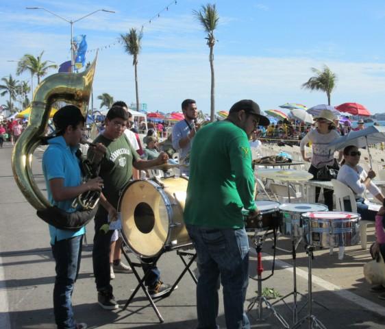 We love Mariachi music. The tuba always makes us smile.