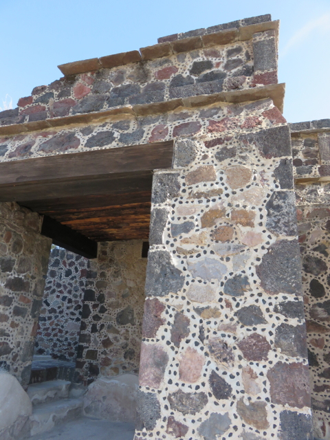We like the patterns in the mortar