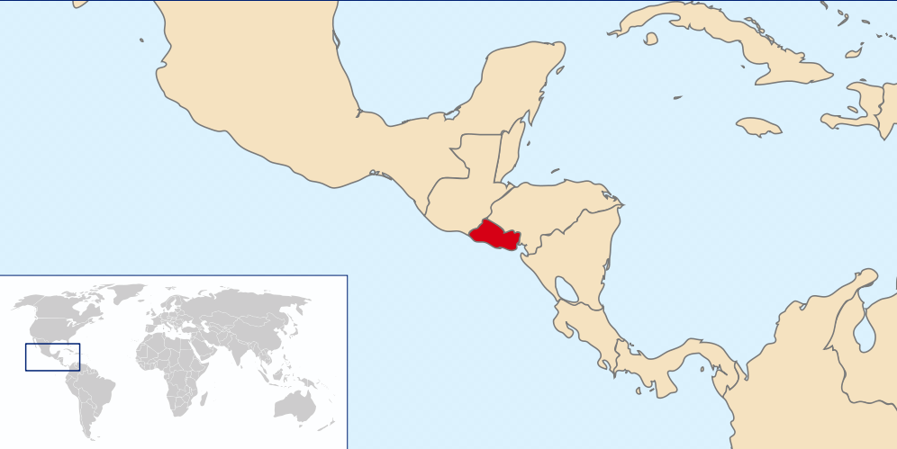 Map_El Salvador
