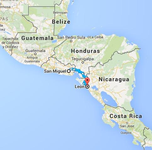 Map_ElSalvador_Nicaragua