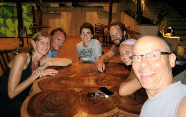 Left to right: Paula, John, Elis, Gorm, Janice, Gregor.