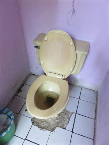 Terrible toilets…