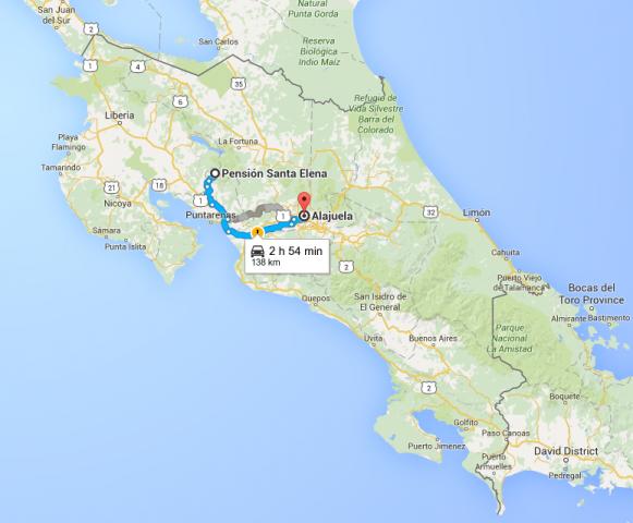 Map_SantaElena_Alajuela