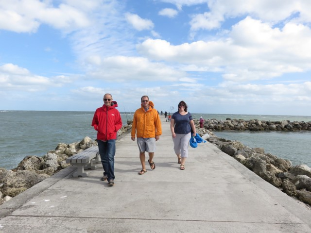 A windy walk through Jetty Park