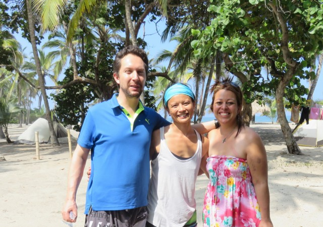 Eddie and Diana met us at the beach near Santa Marta and invited us to stay with them in Bogotà