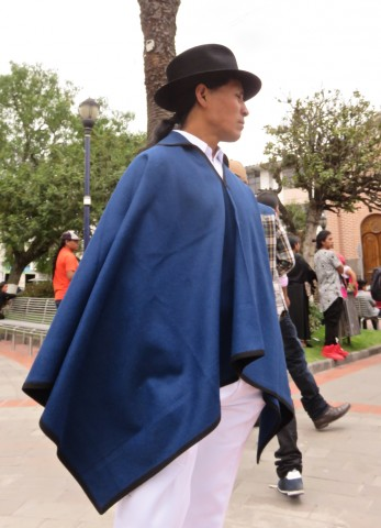 The Otavaleño poncho and hat
