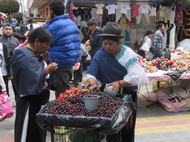 …and the sweet-smelling fruit carts…