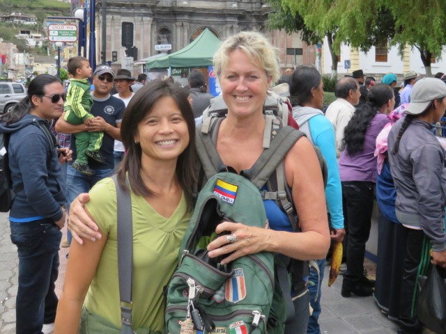 Caryn took the year off to backpack through Latin America.