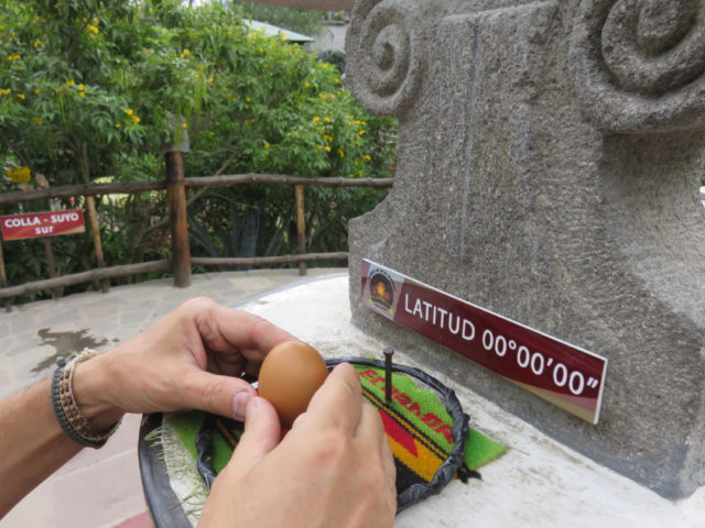 Apparently, you can balance an egg on a nail at the equator, but not on either hemisphere.