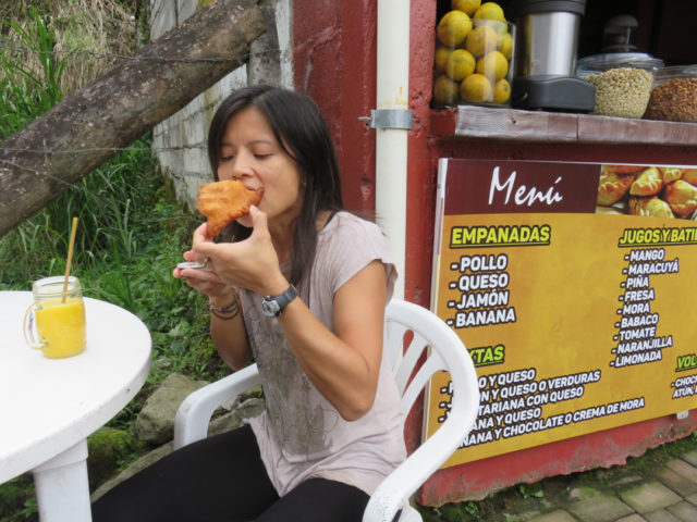 We had the best-tasting chicken empanadas EVER in Rio Verde