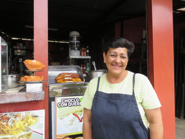 Mercedes, Rio Verde's exquisite empanada chef
