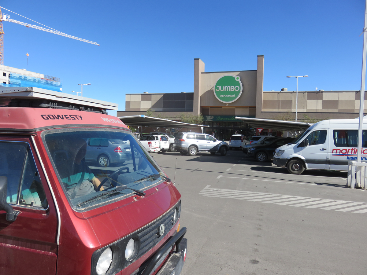 The Jumbo grocery store in Calama