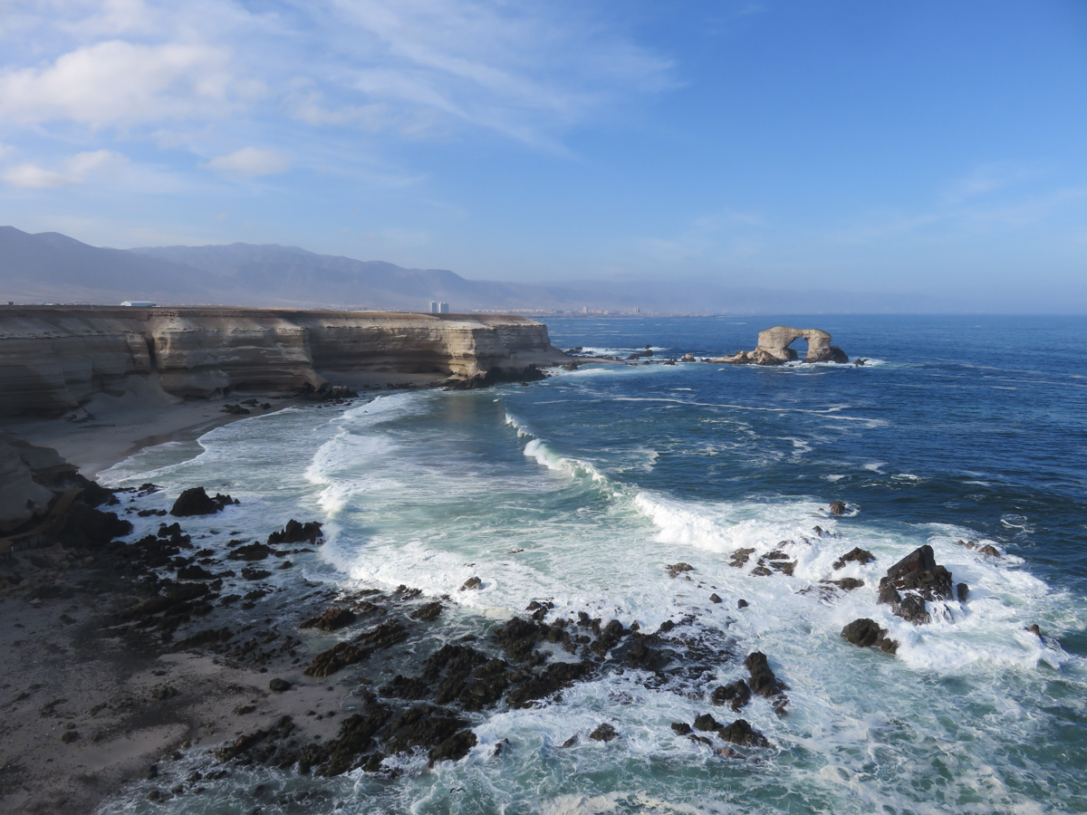 They took us to La Portada, a natural arch in the Pacific Ocean, located 25 km north of Antofagasta