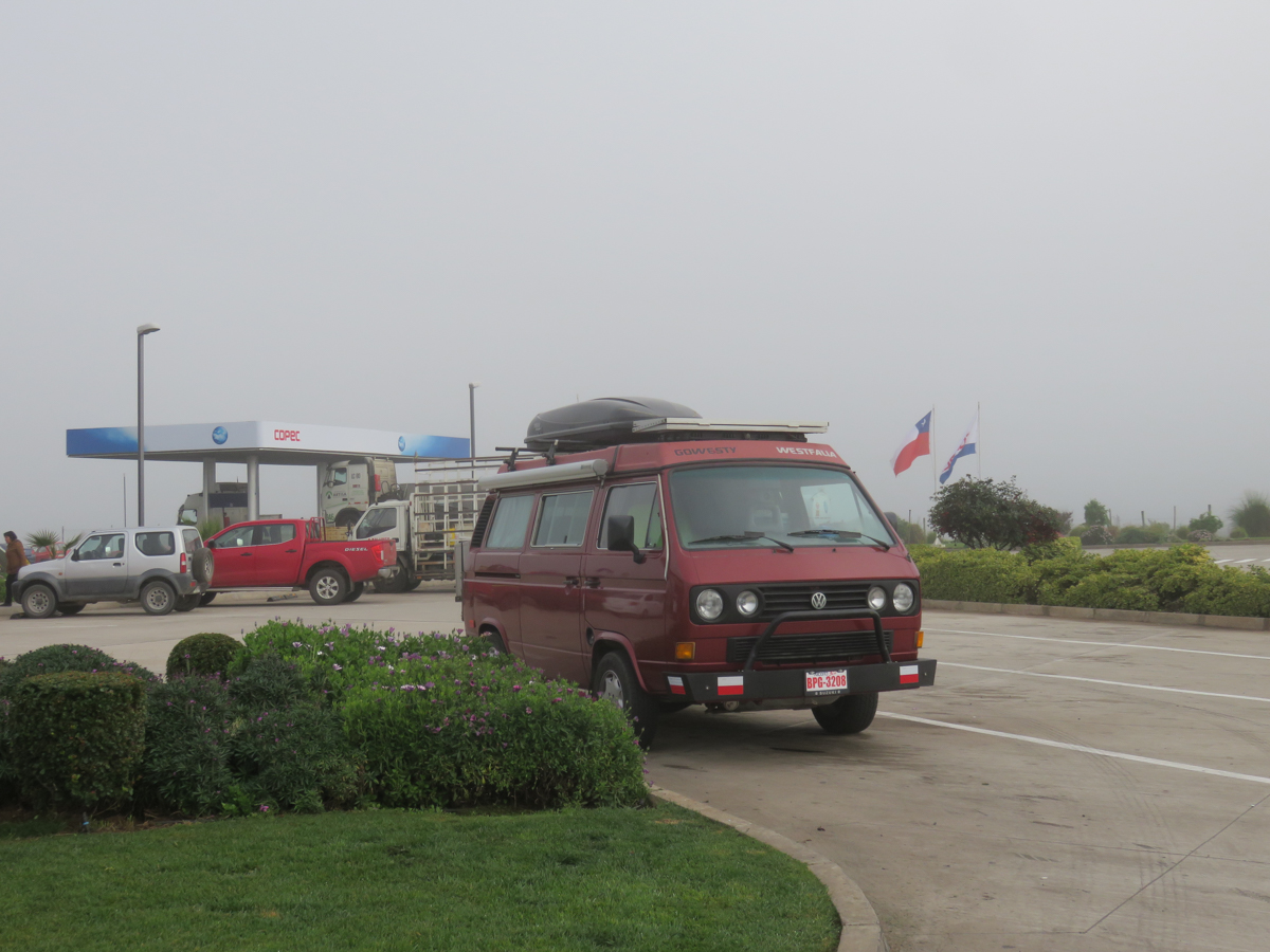 Our favourite gas station campground is Copec